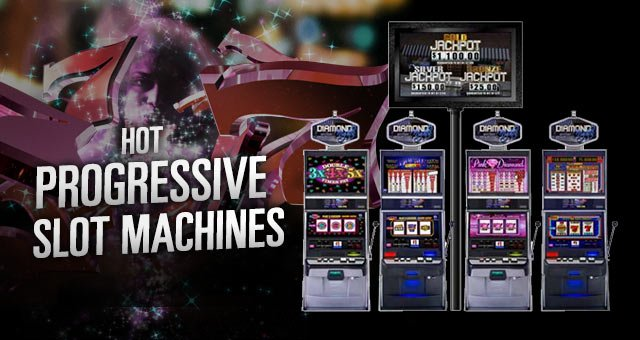 Progressive slot machine free