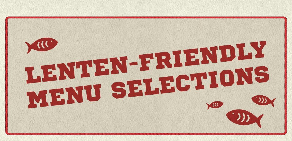 lenten-menu-fire-pit.jpg - Lenten-Friendly Menu The Fire Pit's Sports Bar & Grill