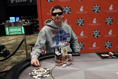Michael Hudson, Winner of WSOP at Potawatomi