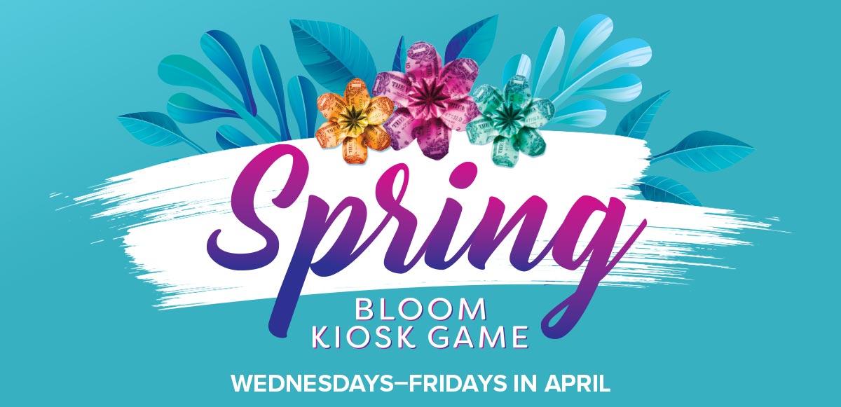 Spring Bloom Kiosk Game