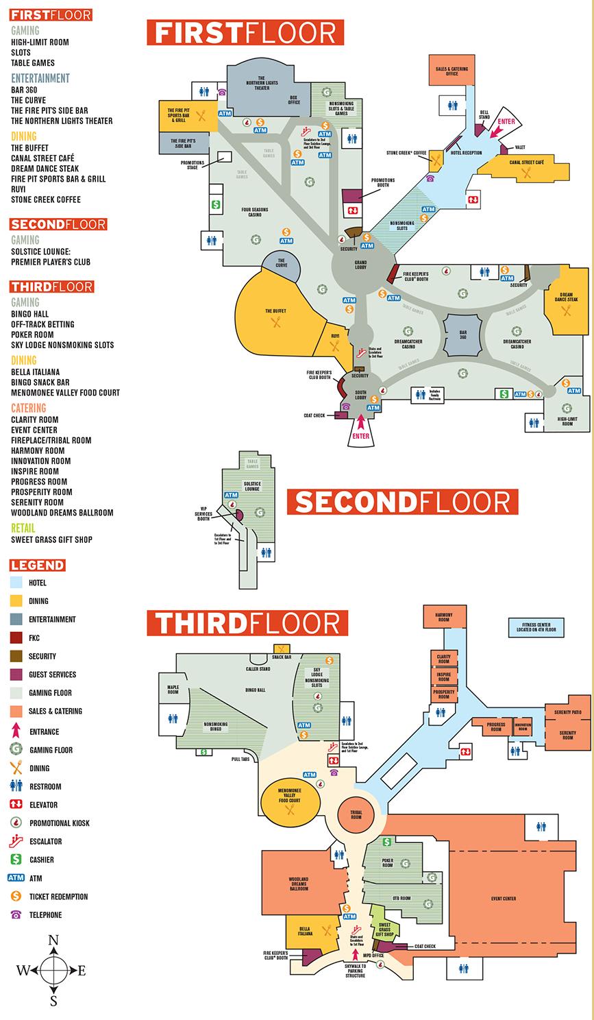 Casinos In Wisconsin Map   autobedrijfmaatje