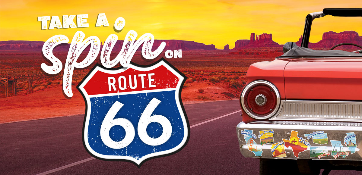Take a Spin on Route 66