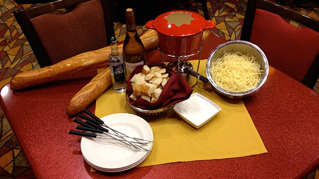 Classic Cheese Fondue - Potawatomi Holiday Recipe Collection