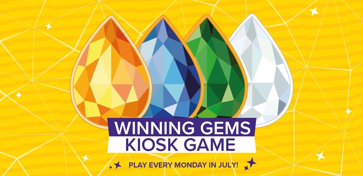 Winning Gems Tiered Kiosk Game