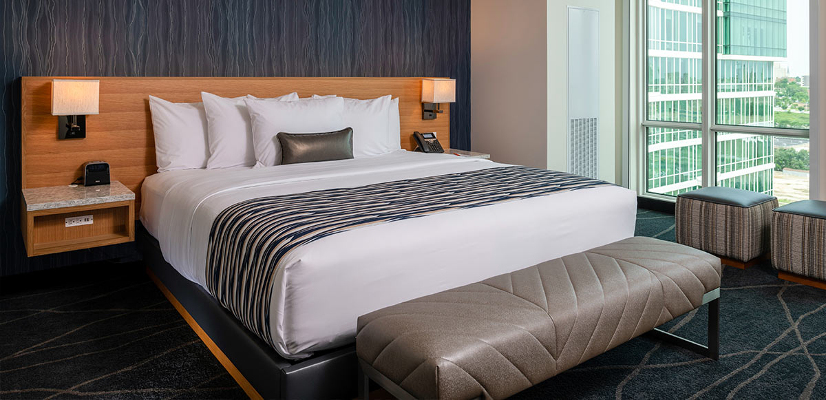 Potawatomi Hotel Guest Room