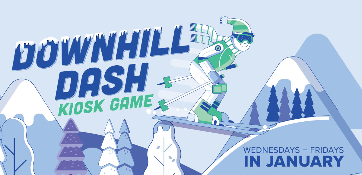Downhill Dash Kiosk Game