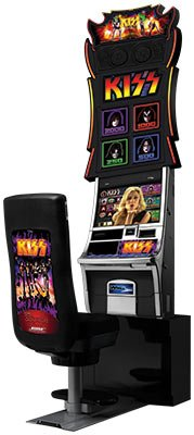 New KISS Slot Machine at Potawatomi Bingo Casino