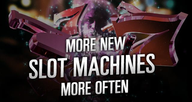 More New Slot Machines More Often at Potawatomi