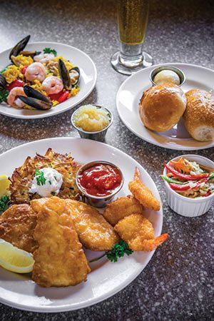 The freshest catch every friday potawatomi hotel casino for All you can eat fish fry milwaukee