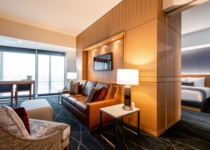 One of the many new suites – a new tower Double Suite, 2019.