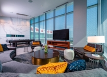 The Chairman's Suite is one of a number of impressive suites added during the second tower completion in 2019.