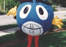 The first bingo ball drawn on opening day was B-13. A giant B-13 bingo ball character would become an early mascot for the organization.