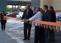 In 2012, tribal officials unveiled plans for a $150-million, 19-story hotel tower. It would become one of the largest in the city. Mayor Tom Barrett attends a hotel ribbon cutting ceremony in 2014.