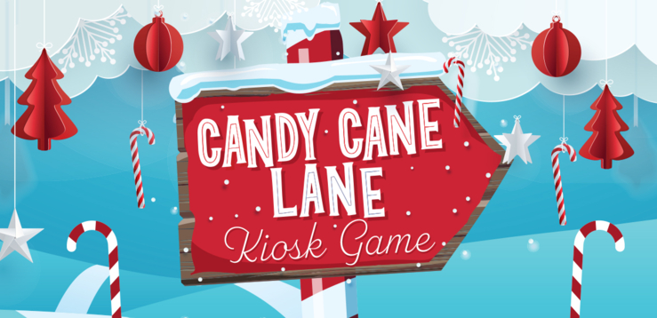Candy Cane Lane Kiosk Game