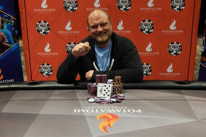Keven Stammen, WSOP Winner at Potawatomi